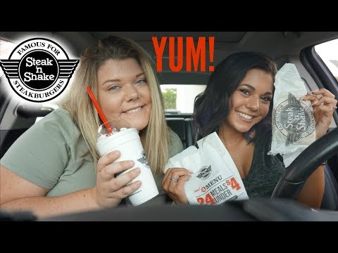 Drive With Us To Steak n Shake | MUKBANG & CAR KARAOKE