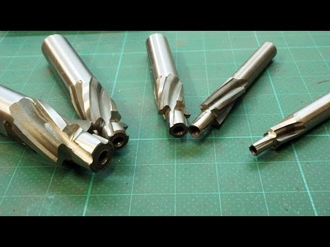 Countersink / counterbore End Milling Cutter Unboxing & first test