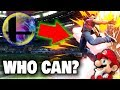 Super Smash Bros. Ultimate - Who Can BREAK THE BARRIER With Their Final Smash? (KOF Stage)
