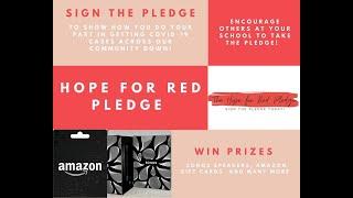 DPHS Hope for Red Pledge Video