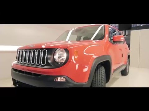 Jeep Renegade Production line