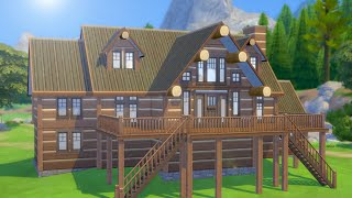 Let's Build a Lakeside Cabin in The Sims 4 (Part 1)