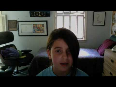 10yearold Singing A Song She Wrote