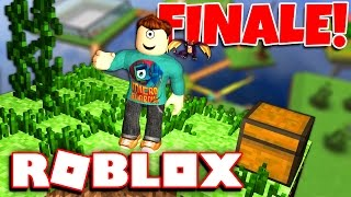 IT LOOKS SO GOOD! | Roblox Sky Block Tycoon FINALE w/ MicroGuardian!