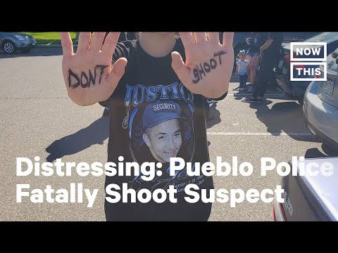Colorado Police Fatally Shoot Suspect At Least 13 Times | NowThis