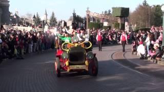Welsh Pre-Parade - La Pré-parade Galloise - Disneyland Paris - 8 mars 2014