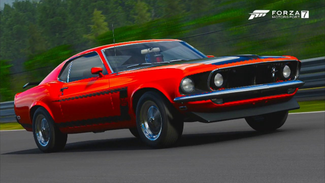 Forza motorsports 7 ford collection 1969 ford mustang boss 302 coupes fe