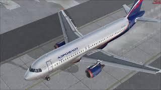 Flight Simulator X - Let's Fly - Пулково - Шереметьево