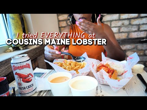 southern-american-trying-cousins-maine-lobster-for-the-first-time-#asseenontv-#sharktank-#jaxbeach
