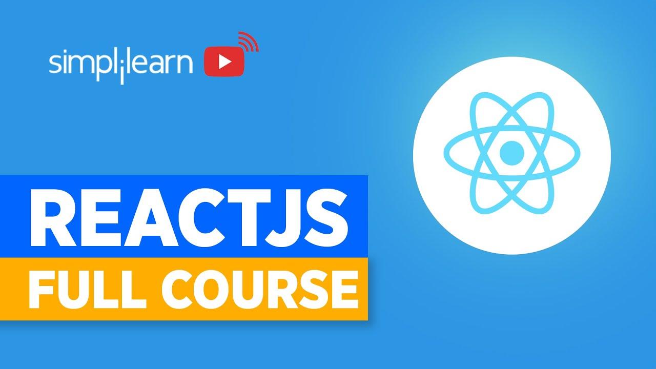React JS Full Course   React.js Full Tutorial   Learn React.js   ReactJS Training