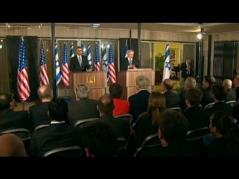 Herzlicher Umgang bei Obama-Besuch in Israel