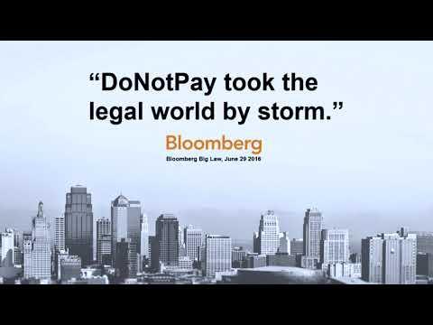 Will Bots Replace Lawyers - Joshua Browder DoNotPay