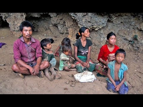 The 21st Century A Family of Chepang Living in Cave in Nepal ...