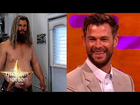 Chris Hemsworth Got Lots Of Cuddles As 'Fat Thor' | The Graham Norton Show