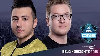 CS:GO - Space Soldiers vs. FaZe [Inferno] Map 1 - Group A Winners' Match - ESL One Belo Horizonte