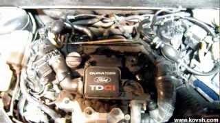 Странная система топливоподачи на Ford Fusion 1.4 TDCi