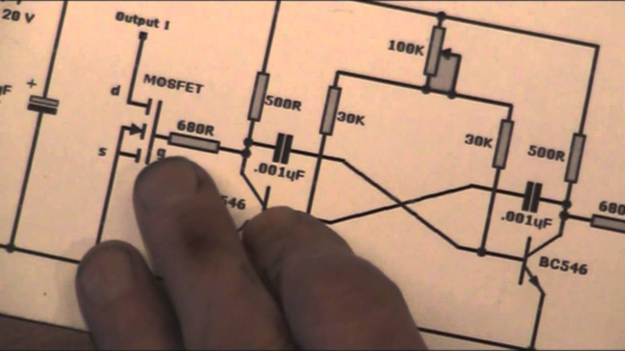Dual Output Transformer Wiring Diagram Electrical Diagrams Driver Youtube A C