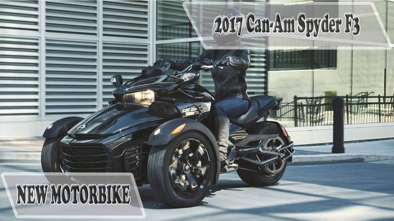 can am spyder f3 limited review and price 2017 youtube. Black Bedroom Furniture Sets. Home Design Ideas