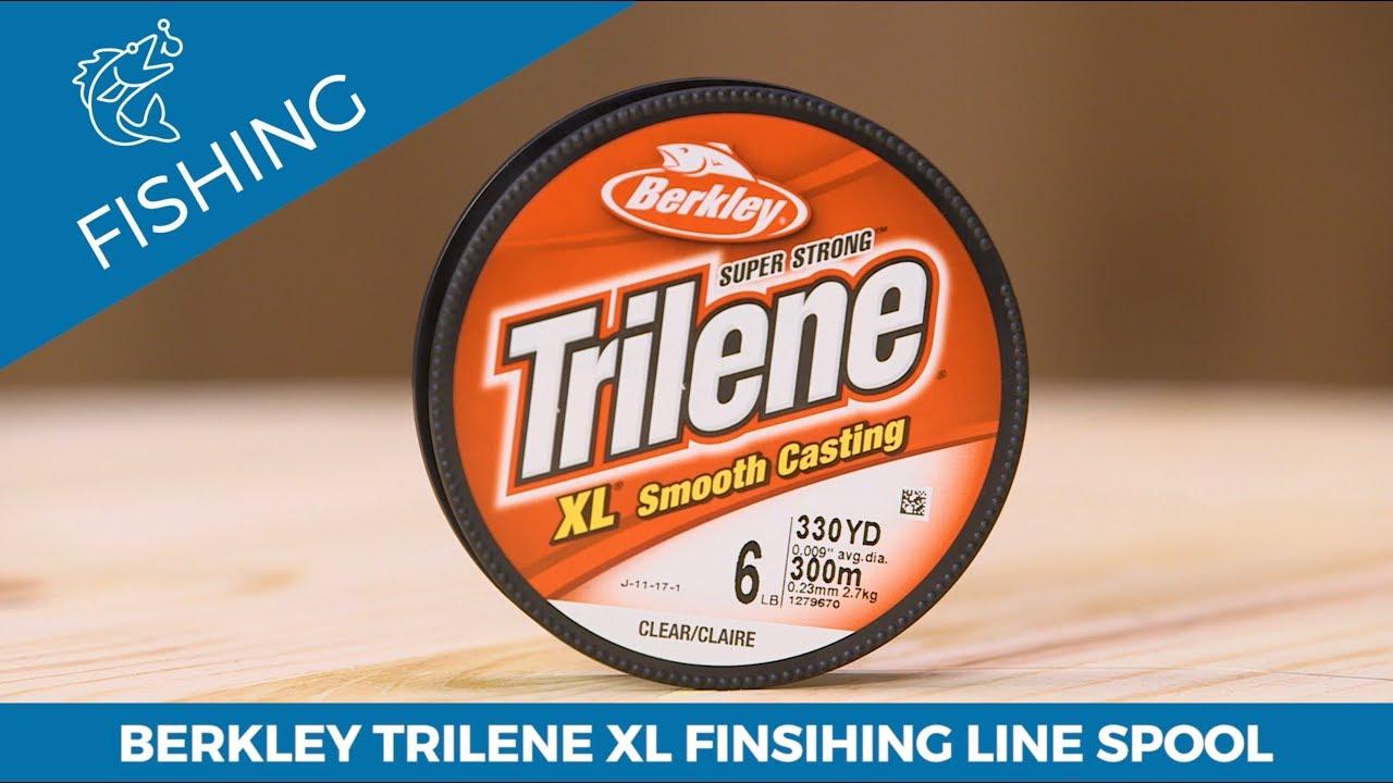 Berkley Trilene XL Monofilament Fishing Line Filler Spool