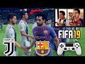 JUVENTUS Vs BARCELONA ¡Duelo Epico en FIFA19! ⚽️