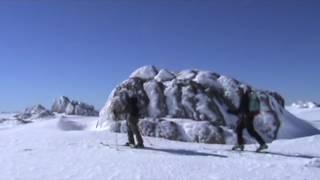 Gora Kościuszki - Na nartach na Kozy