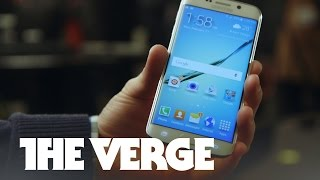 Samsung Galaxy S6 Edge hands-on at MWC 2015