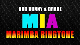 """Enjoy marimba remix of the latest hit """"mia"""" by bad bunny & drake as ringtone on your phone : http://smarturl.it/miamn best iphone ..."""