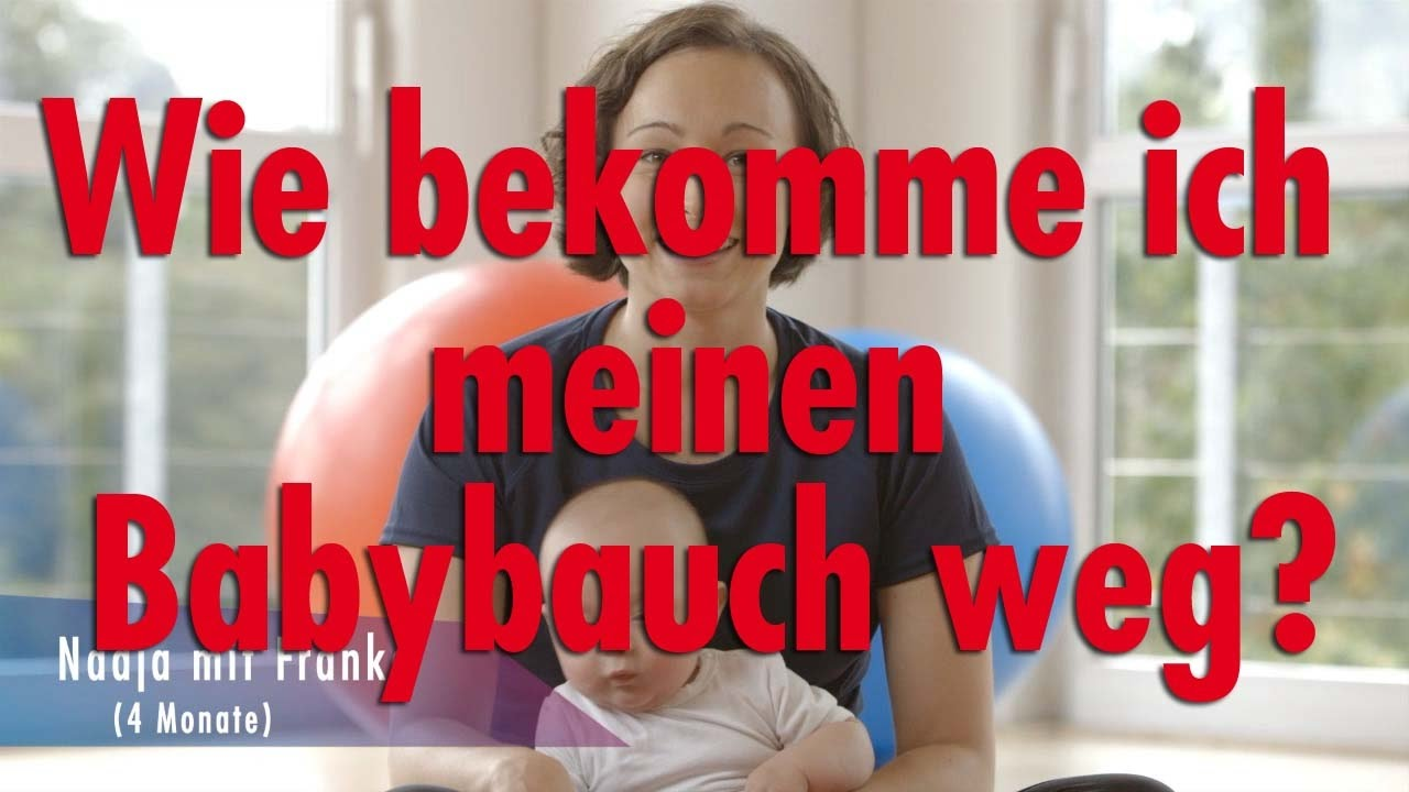 fitdankbaby experten wie bekomme ich meinen babybauch weg youtube. Black Bedroom Furniture Sets. Home Design Ideas