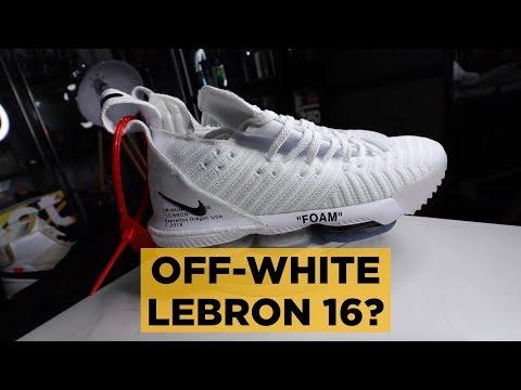 OFF-WHITE LEBRON 16 \