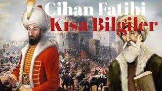 Fatih Sultan Mehmed Hakkında Kısa Bilgiler, Tarihi Olaylar Kişiler