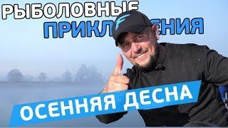 Фидерная осенняя рыбалка на Десне! Рыболовные приключения с Евгением Чертенковым!
