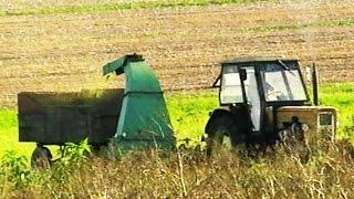 Traktory w Akcji - Maszyny Rolnicze - Koszenie Lucerny Na Polu - Praca Na Gospodarstwie w Polsce