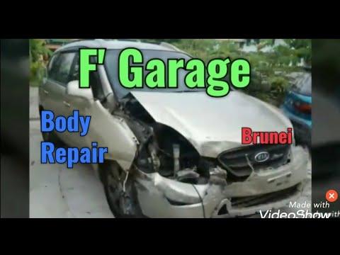 Body repair car local brunei / usai kerita bakas terlangar dibrunei