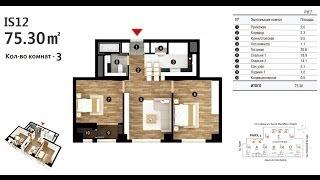 Название: тип квартиры IS12, площадь 75.30 м2(, 2014-04-14T11:01:28.000Z)