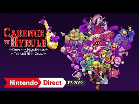 ケイデンス・オブ・ハイラル: クリプト・オブ・ネクロダンサー:E3 2019 出展映像