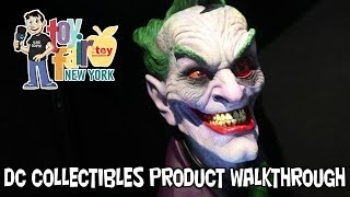 DC Collectibles Product Walkthrough at New York Toy Fair 2018