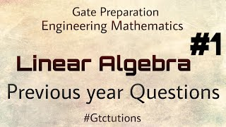 Linear Algebra Pdf For Gate Exam