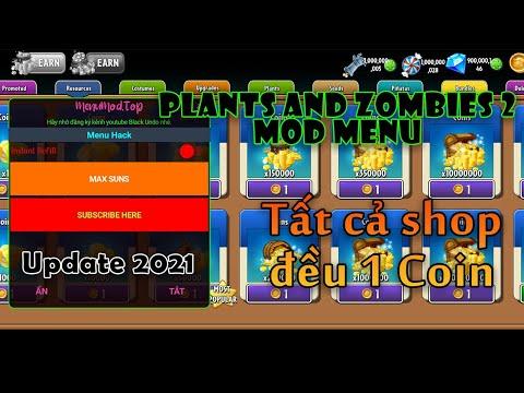 hack plants vs zombies 2 bằng lucky patcher - Menu Mod Plants And Zombies 2 Mới Nhất 2021 Menu Bật Tắt