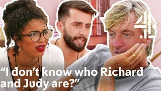 AWKWARD Moment when NO ONE Knows the CELEBRITY CATFISH | The Circle