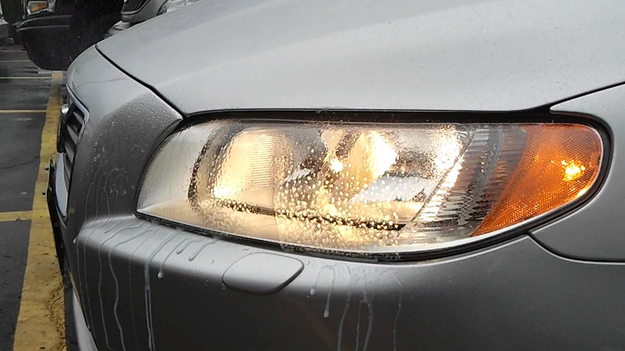 Headlights Washer VOLVO S80 T6 омыватель фар - YouTube