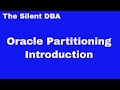 Oracle Partitioning - Introduction