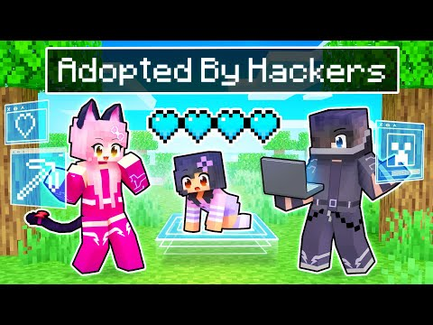 Adopted By PRO HACKERS In Minecraft!