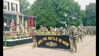 """2017 West Point """"March Back"""" Parade Class 2021 Completes Basic Training"""