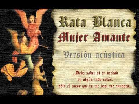 Rata Blanca - Mujer amante (versión acústica)