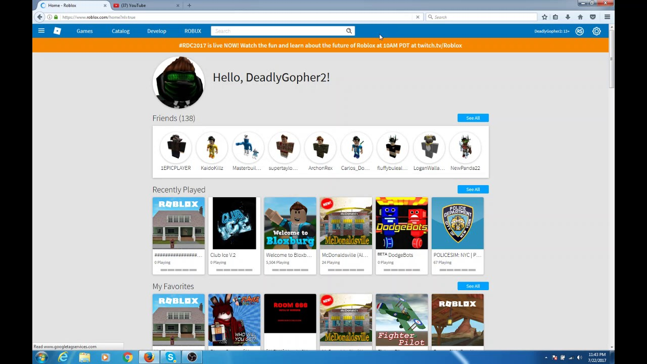 Free Roblox Accounts With Robux Youtube