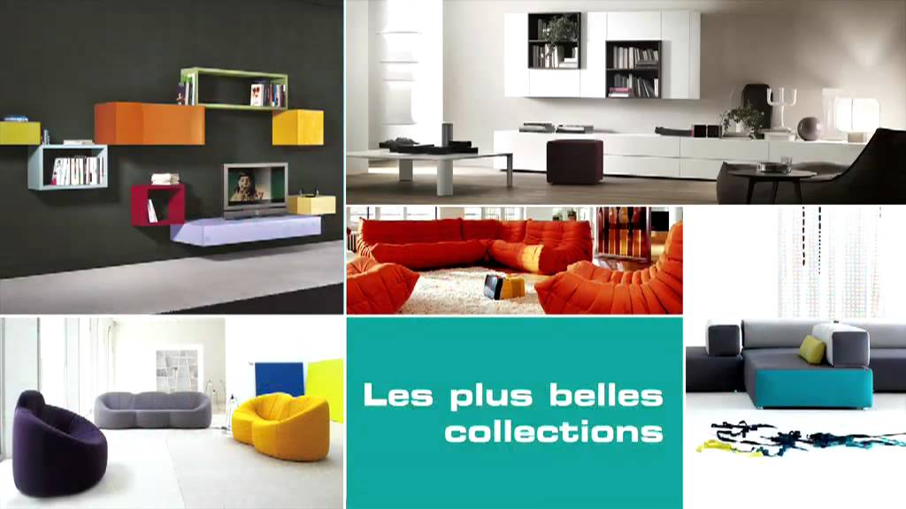 Vivre contemporain mobilier design youtube for Mobilier contemporain