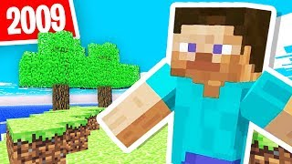 THIS is the OLDEST VERSION of MINECRAFT!