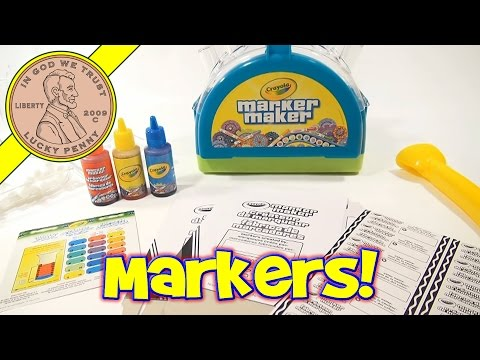 Crayola Marker Maker Kit - Create Custom Colors & Make Your Own Markers