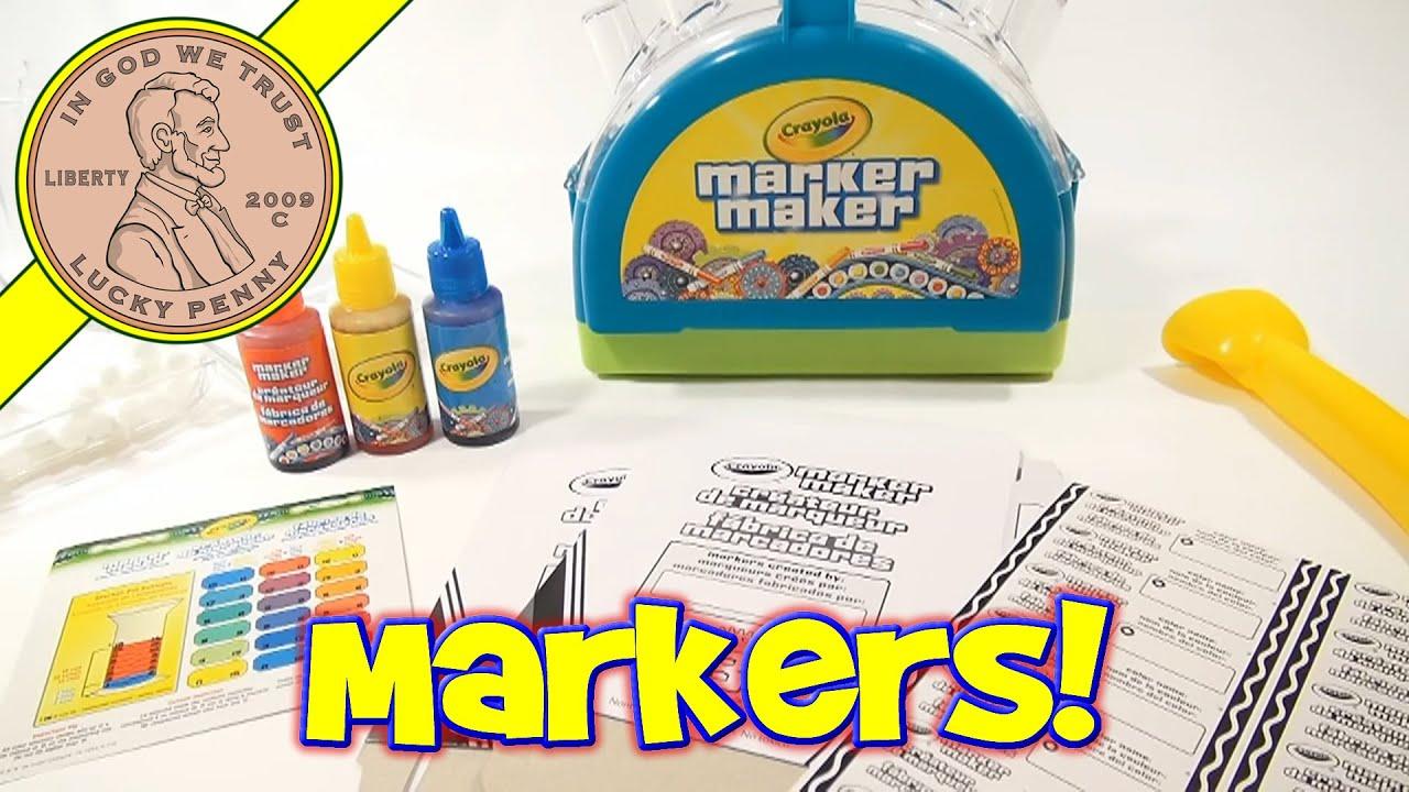 Crayola Marker Maker Color Chart | www.imgkid.com - The ...