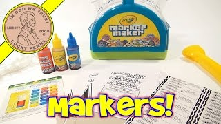 Crayola Marker Maker Kit - Create Custom Colors & Make Your Own Markers!